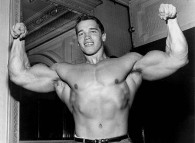 Old Photos Of Arnold Schwarzenegger When He Was In Army