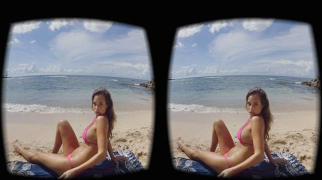 SI Swimsuit Models In Virtual Reality
