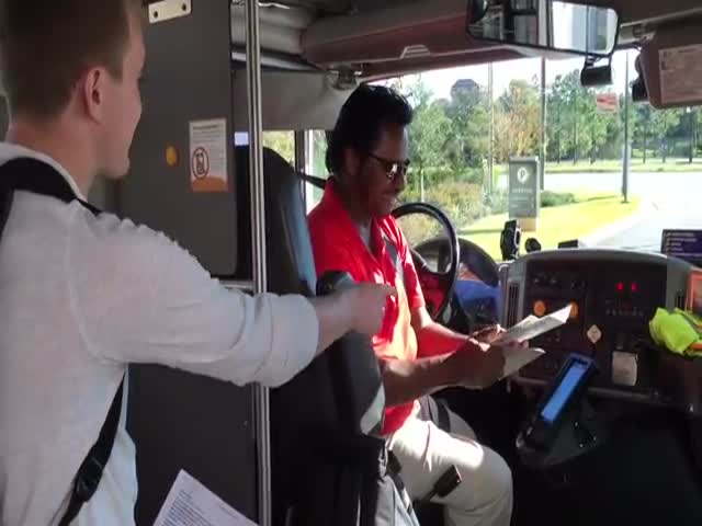 Students Made An Unexpected Surprise For Their Bus Driver's Birthday