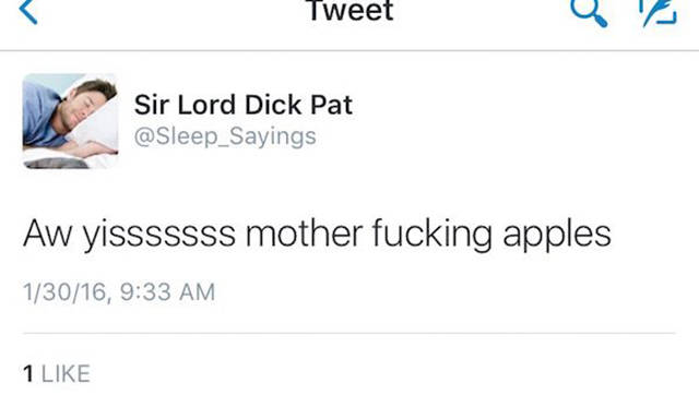 Boyfriend Speaks In His Sleep, His GF Tweets Everything He Says