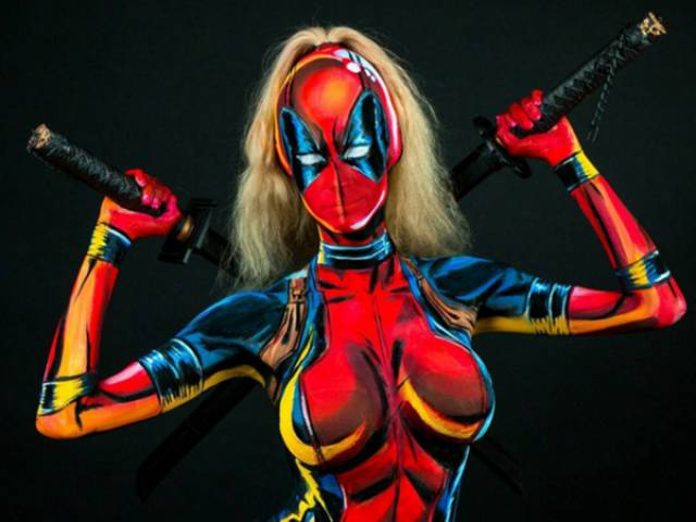 Girl Has Insane Know-How In Body Painting