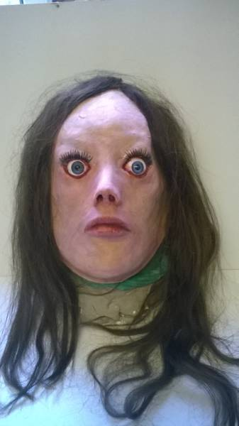 Guy Made A Creepy Ass Mask That Will Scare You To Death