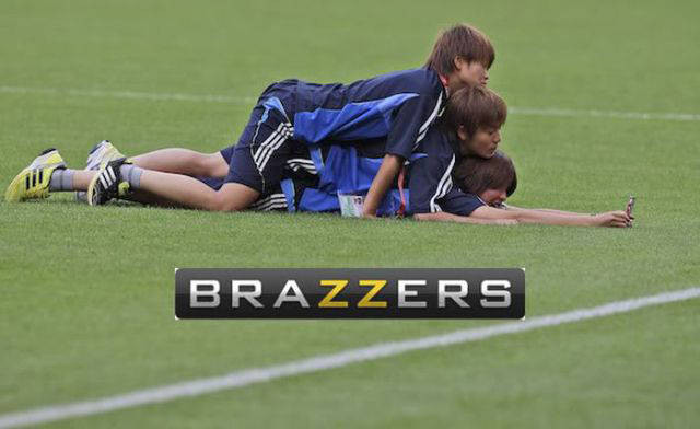 Brazzers Logo On Innocent Photos Makes Them Look Really Nasty