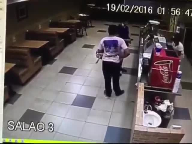 Armed Robber Thought Everything Would Go Smoothly And Easily