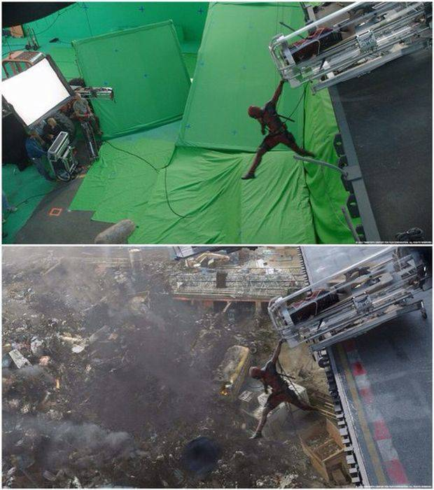 Deadpool: A Glimpse Into The Making Of Visual Effects
