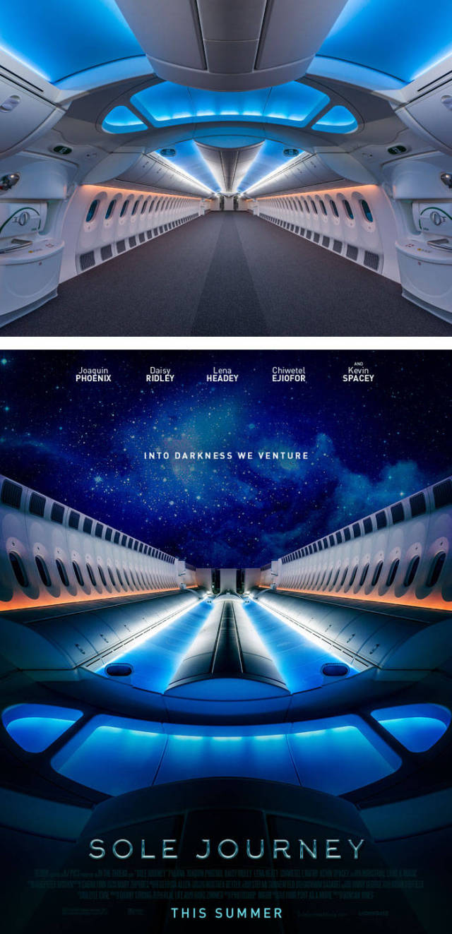 Ordinary Pictures Turned Into Movie Posters