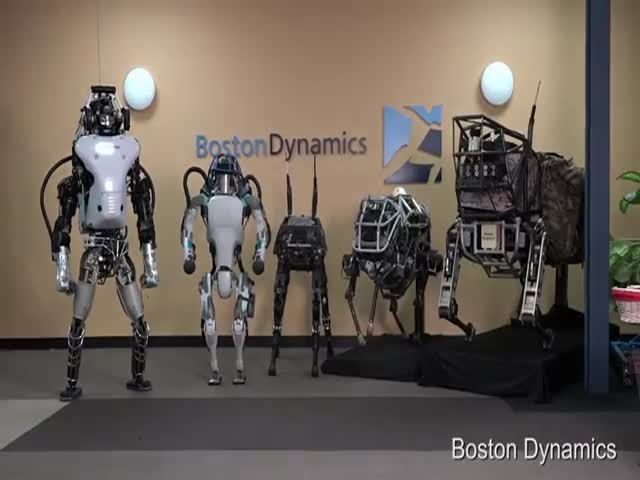 Boston Dynamics Presents Its New Generation Robot Atlas