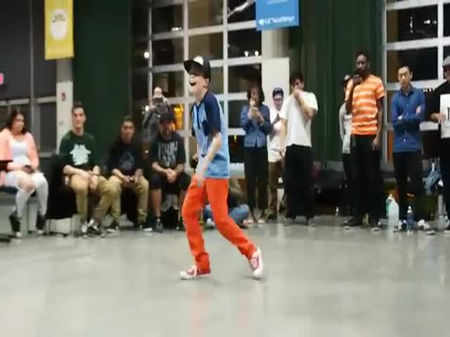 I've Never Seen A 10-year-old To Dance This Good