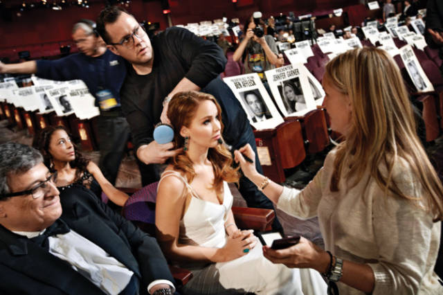 Behind The Scenes At The Oscars: The Best Photos Of Past Years