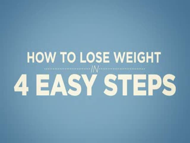 4 Easy Steps To Help You Lose Weight
