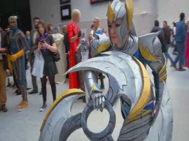 The Best Cosplays From This Year's London Super Comic Con