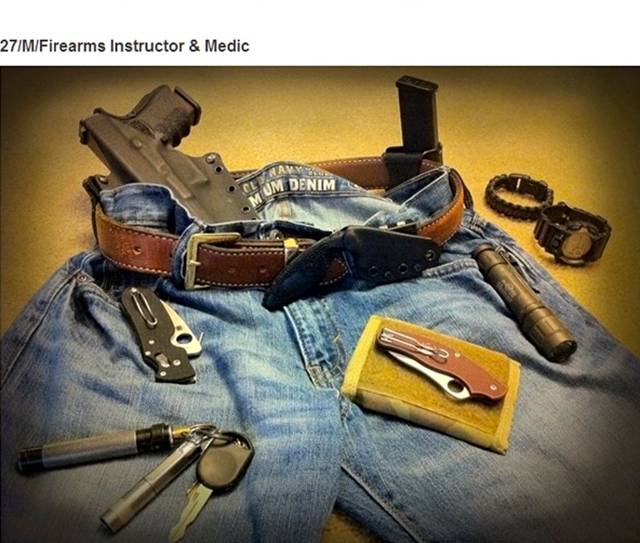Different Items People Carry