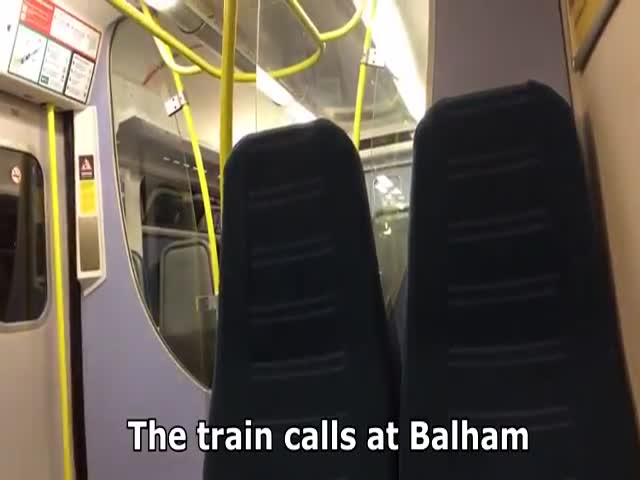 Hilarious Announcement Of A Train Driver