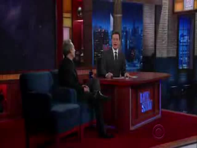 Gravitational Waves Explained to Stephen Colbert on the Late Show