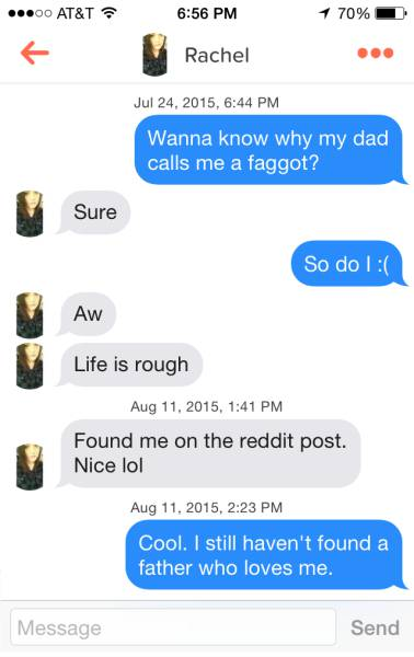 how to talk on tinder