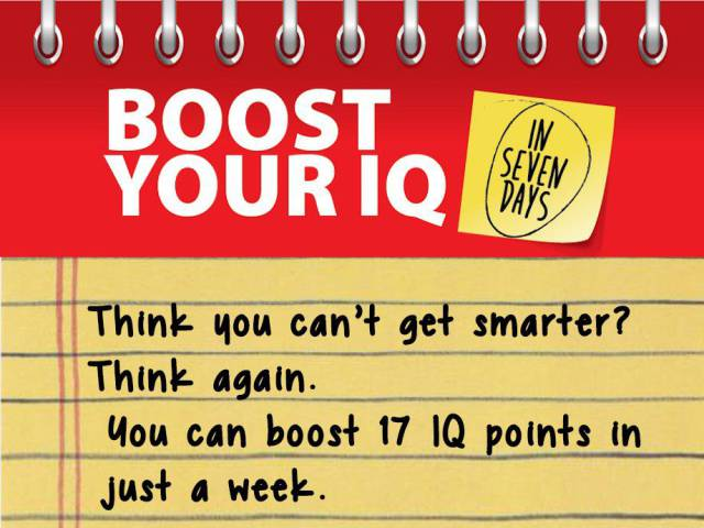 This Will Help You To Boost Your IQ Swiftly
