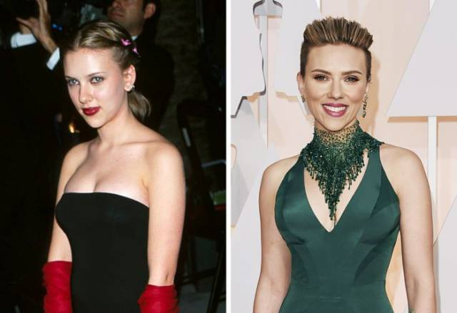 What Celebs Looked Like At Their First And The Latest Academy Awards