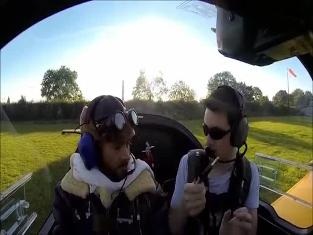 It's Not For The Faint-Hearted To Fly With This Stunt Pilot