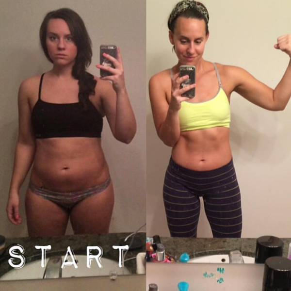 Girls Show Off Their Dream Bodies After Following A Popular Fitness Program