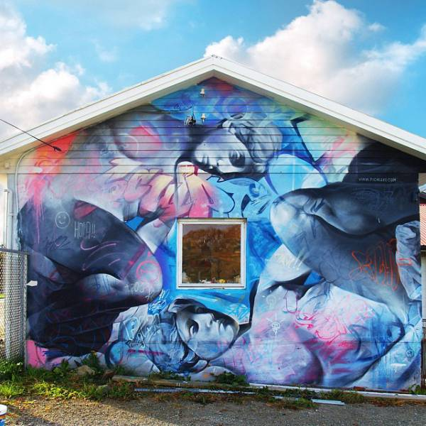 PichiAvo Took Street Art To The Next Level