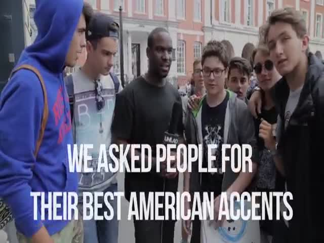 The British Trying Their Hand At Imitating American Accent The Best They Can