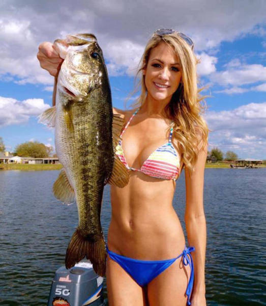 Sexy fishing photos