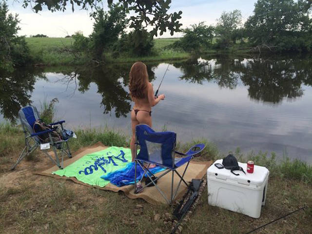 Sexy Girls Make Fishing Less Boring