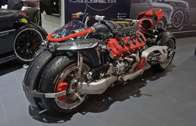This Bike Powered With Maserati Engine Is A Real Beast Of Steal