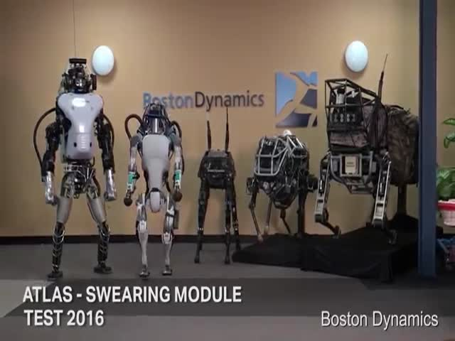 Boston Dynamics Robot Is Voiced Over And It Sounds Hilariously