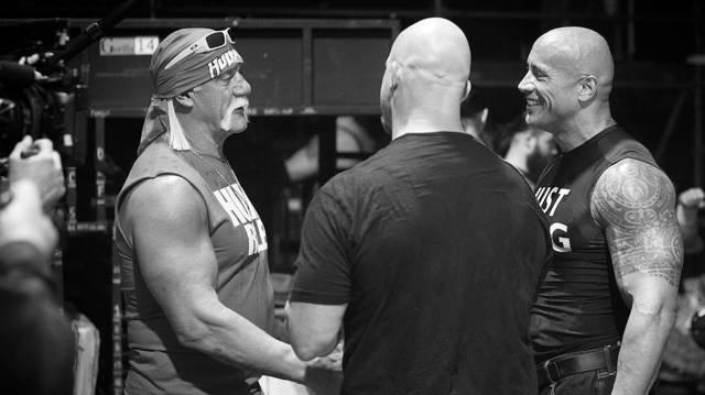 Cool Wrestling Backstage Photos