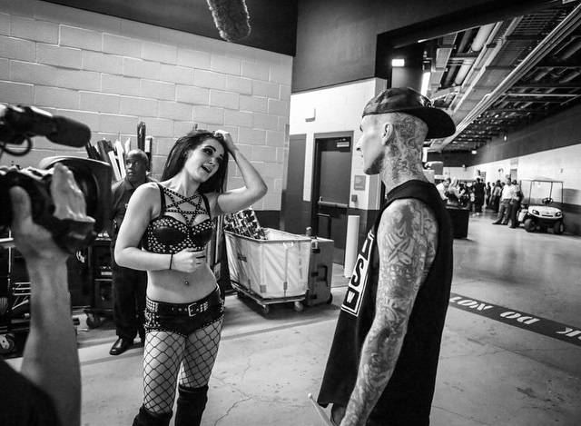 Cool Wrestling Backstage Photos