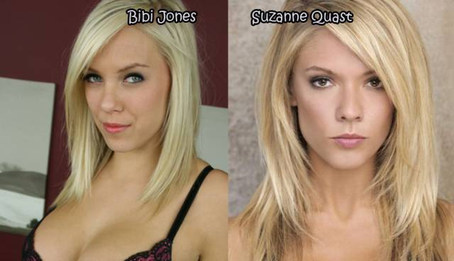 Female Celebrities And Their Pornstar Lookalikes