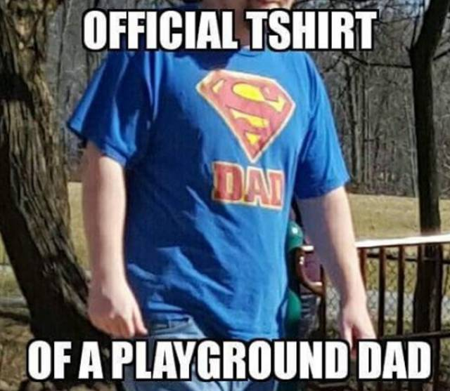 Only Dads Can Wear Such Stuff