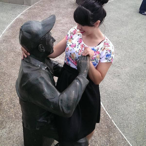 If You Do It Right, You Can Have A Lot Of Fun With Statues