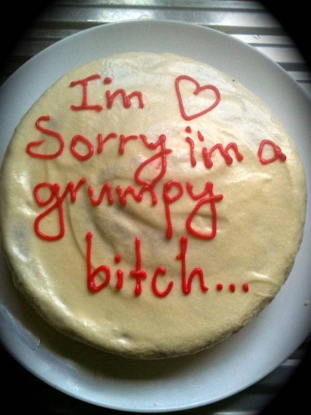 Sometimes People Pass On Their Messages With Funny Cakes