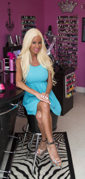 42 Year Old Mother Spends Almost $500,000 On Surgery To Look Like A Barbie Doll