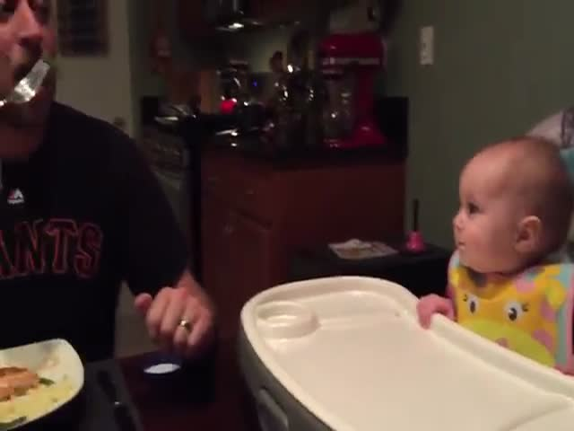 When You Hear This Baby's Laugh It's Impossible Not To Laugh Yourself