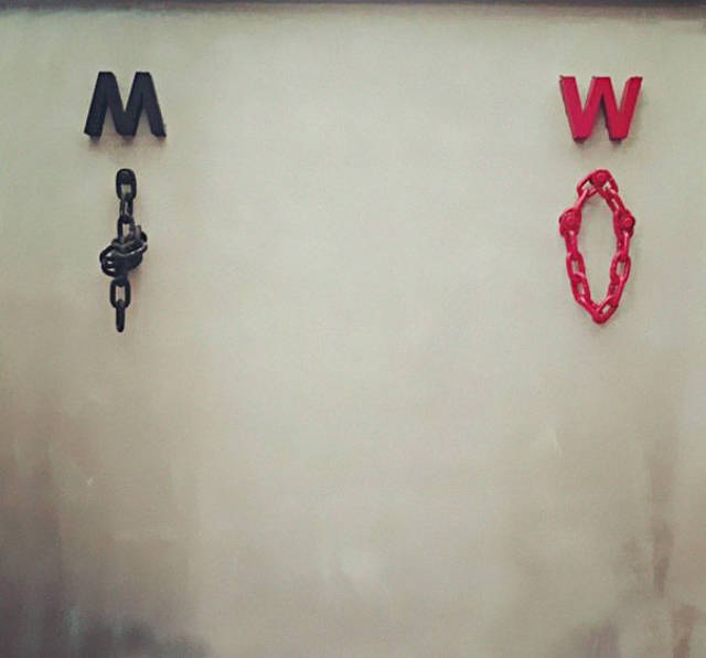 Creative Toilet Signs