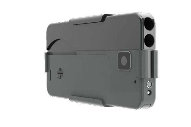 This Smartphone Is Actually A Gun