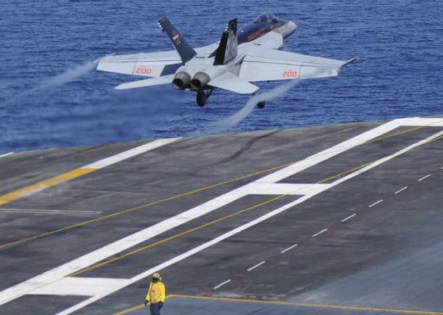 US Aircraft Carriers Are Powerful And Intimidating Weapon
