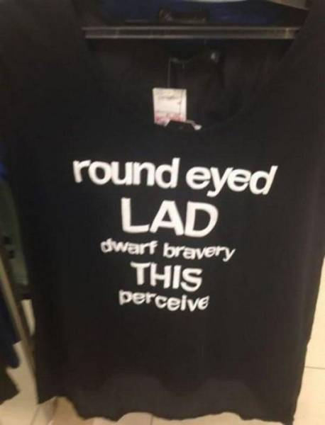 Funny Engrish T-Shirts That Are Results Of Hilarious Fail Translations