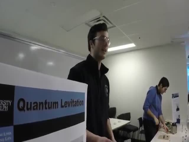 This Quantum Levitation Video Will Blow Your Mind To Pieces