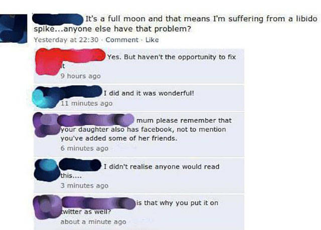 Moms Have These Incredible Ability To Embarrass Their Kids On Facebook