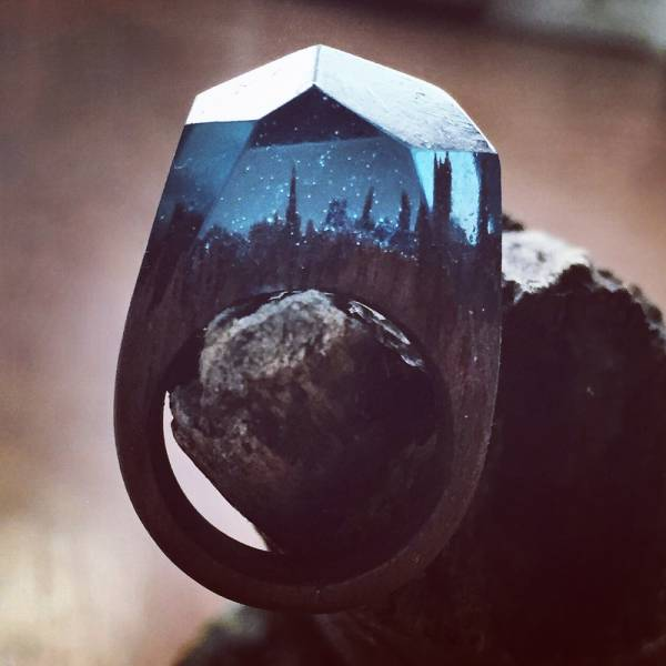 This Incredible Wooden Ring Is Out Of This World
