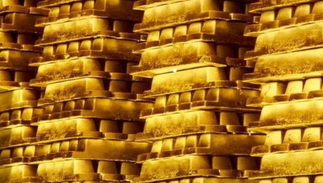 This Is What $300 Billion Looks Like In Gold Bars