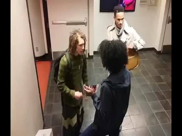Black College Employee Says To A White Student That He Cannot Wear Dreads Because It's