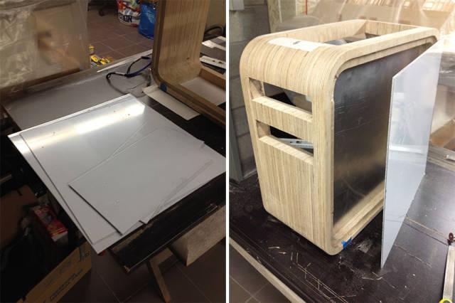 Amazing Handmade Wooden Computer Case