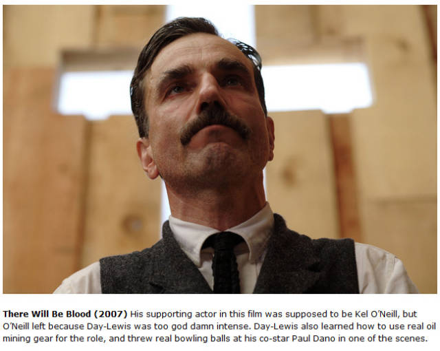 Daniel Day Lewis Is Intense As Actor And Never Breaks His Character On-Set