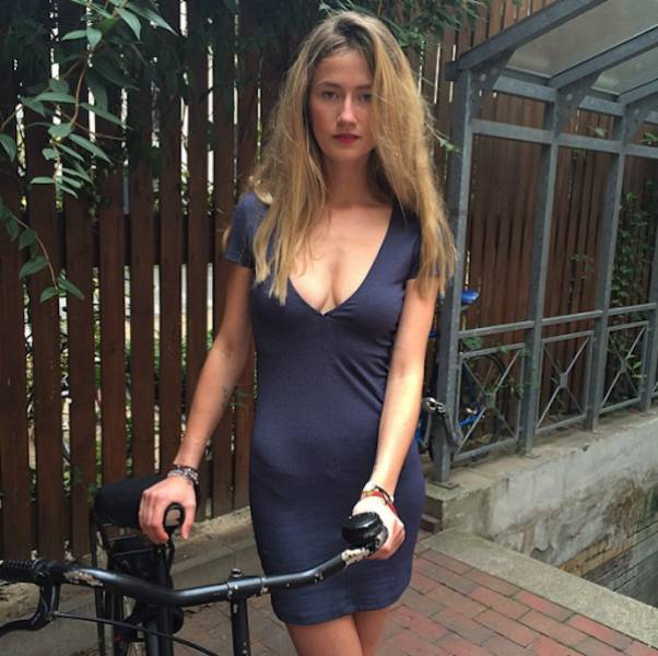 These Bicycle Riding Girls Will Put a Smile on Your Face
