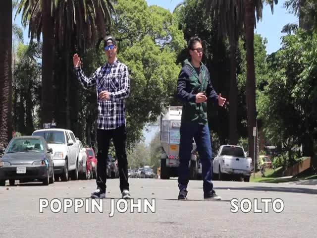 Amazing Robot Dance From Poppin John